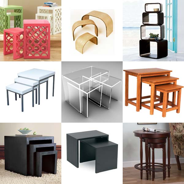 plinth amp chintz nesting tables plinth amp chintz