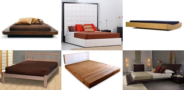 solid platform bed no slats 2