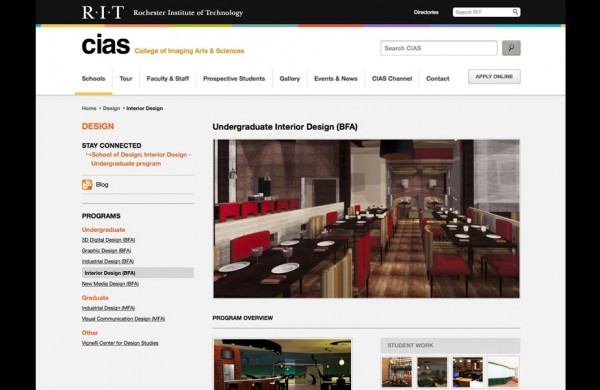 RIT - Rochester Institute of Technology Interior Design