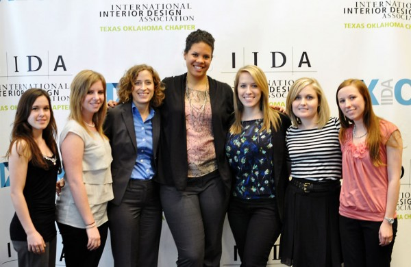 University of North Texas students at the IIDA Texas Oklahoma 2012 Student Conference