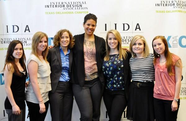 University of North Texas students at the IIDA Texas Oklahoma 2012 Student Conference