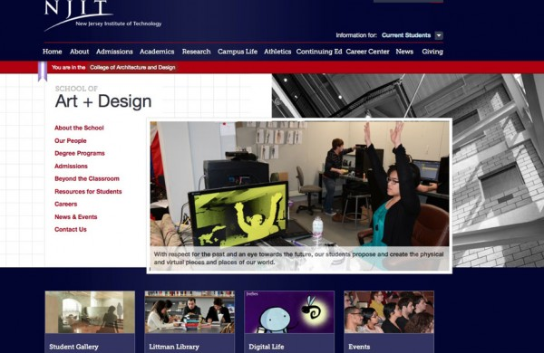 NJIT - New Jersey Institute of Technology Interior Design