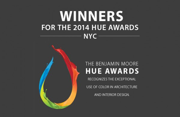 Benjamin Moore 2014 HUE Award Winners