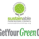 2016 Sustainable Furnishings Council #GetYourGreenOn Design Awards