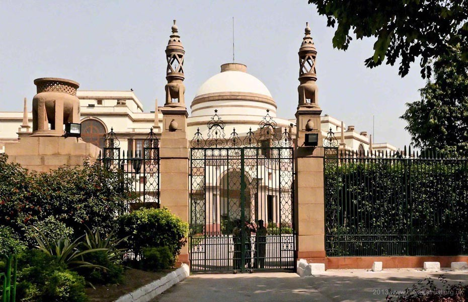 Architectural Tour of New Delhi - Hyderabad House