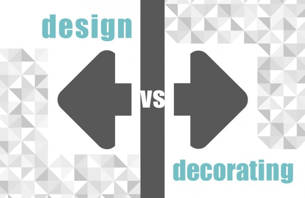 design vs decorating