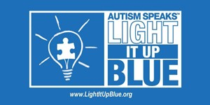 World Autism Awareness Day - Light It Up Blue