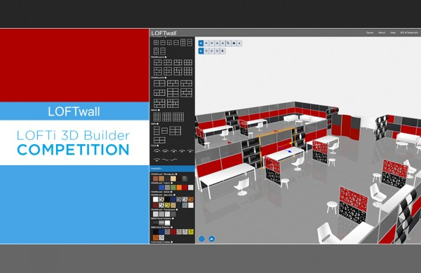 LOFTwall LOFTi 3D Builder Competition
