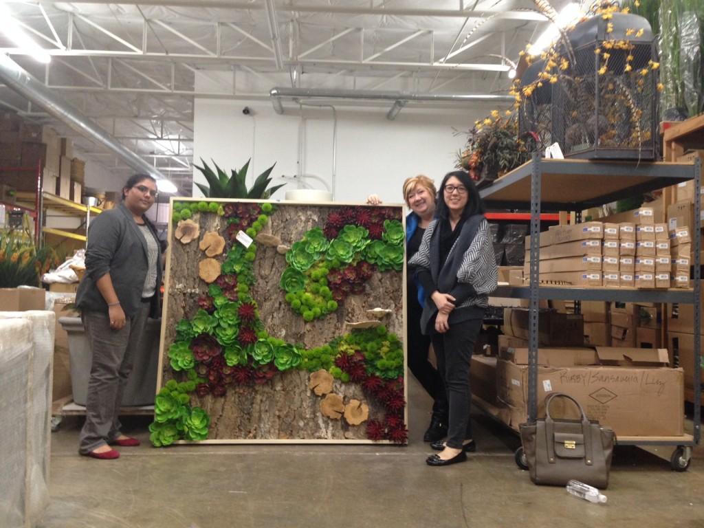 Student Mentoring: Fantastic Faux Florals at LDF Silk