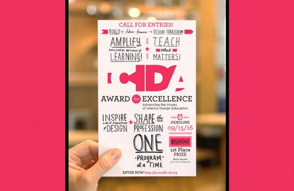 2016 CIDA Award for Excellence Call for Entries
