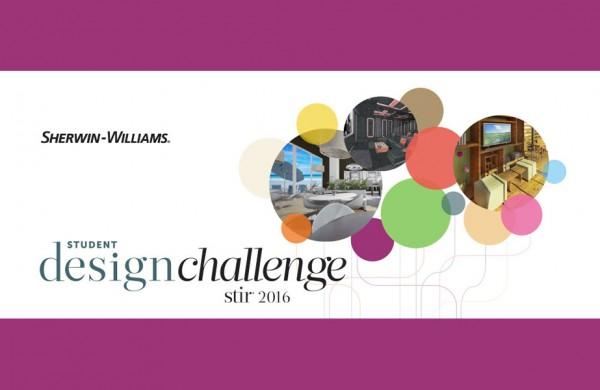 2016 Sherwin-Williams STIR Student Design Challenge