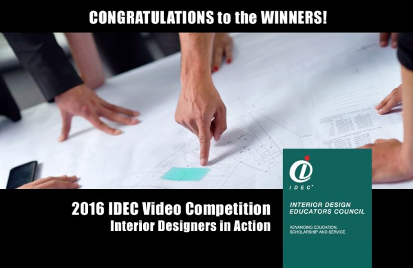 2016 IDEC Video Competition Winners
