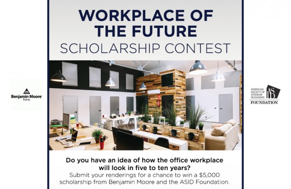 2016 Benjamin Moore Workplace of the Future Scholarship Contest