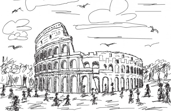 2017 ICAA Rome Drawing Tour and Scholarships