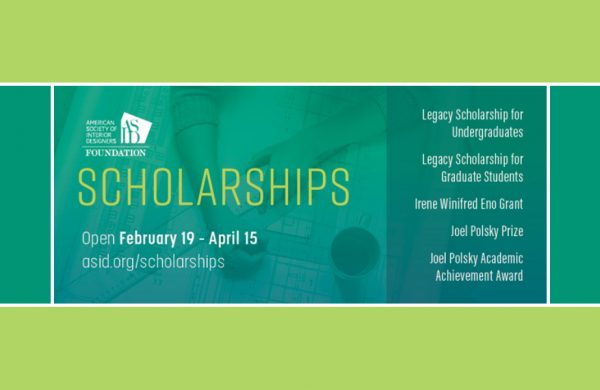 2020 ASID Foundation Scholarships
