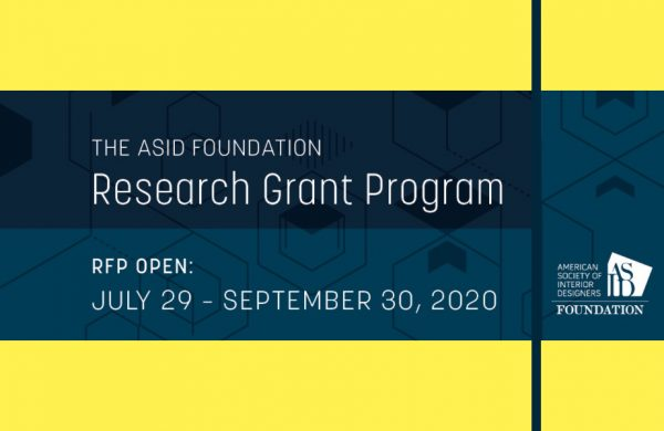 2020 ASID Foundation Research Grant Program