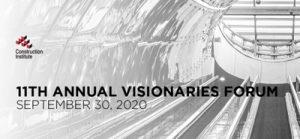 Construction Institute Visionaries Forum 2020