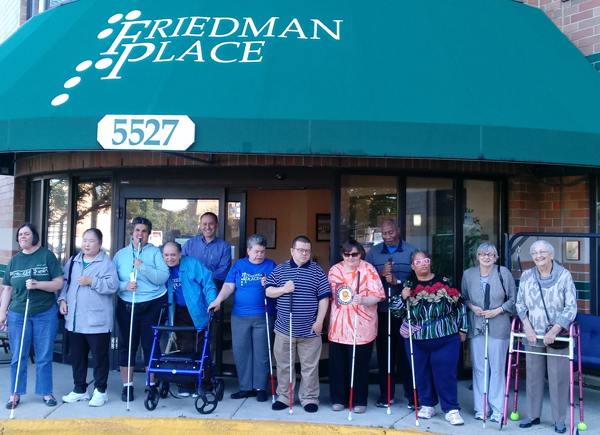 Designing a Better Chicago 2020 Grant Recipient: Maplewood Housing for the Visually Impaired (dba Friedman Place)