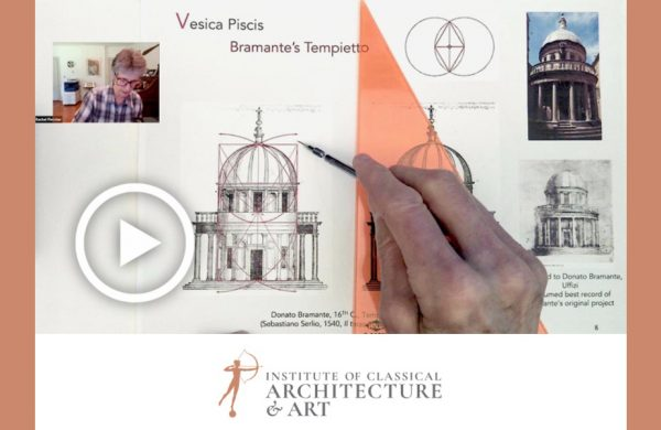 ICAA Introduction to Architectural Proportion Video Series